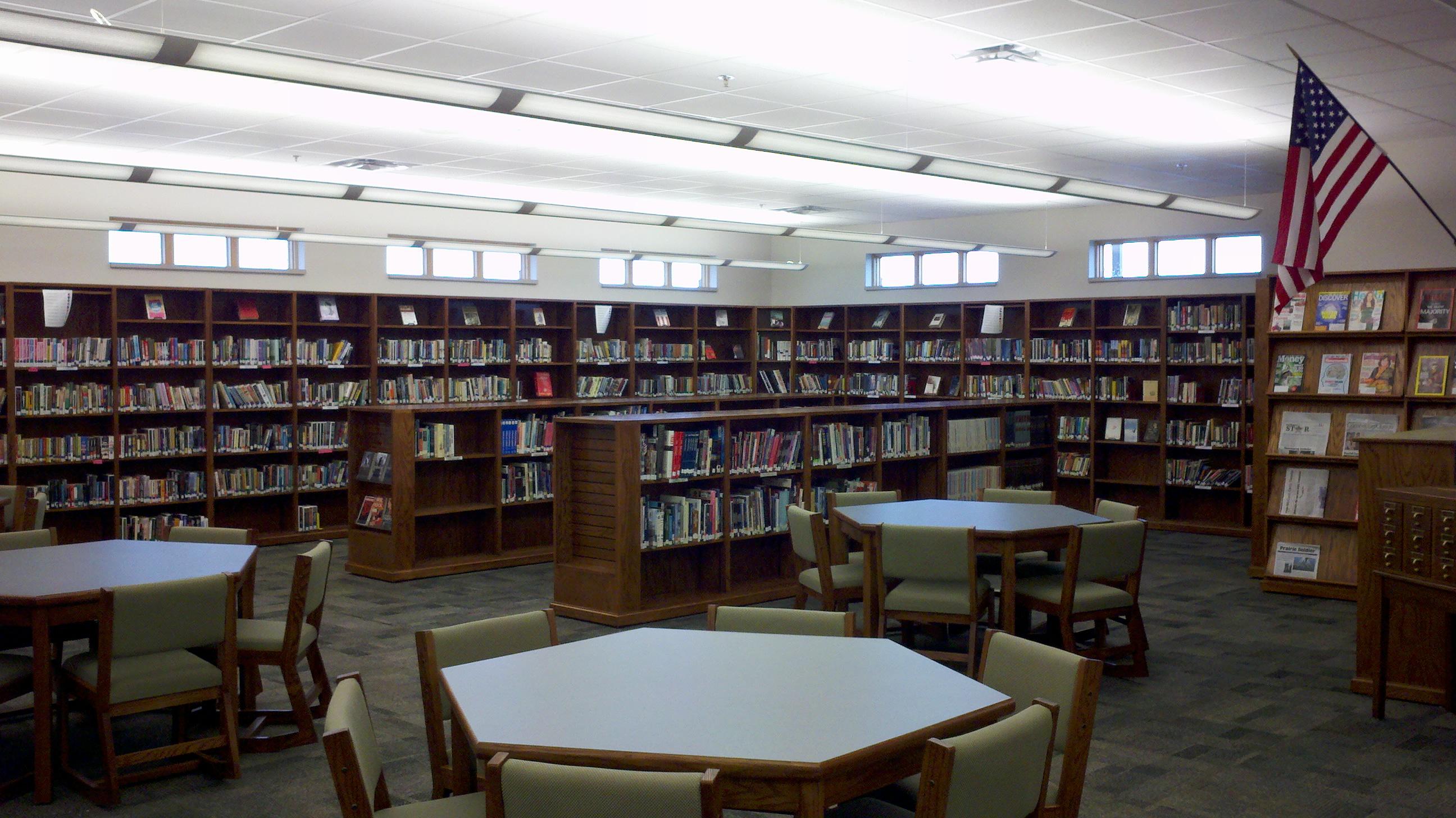 Southwest Public Schools High School Library