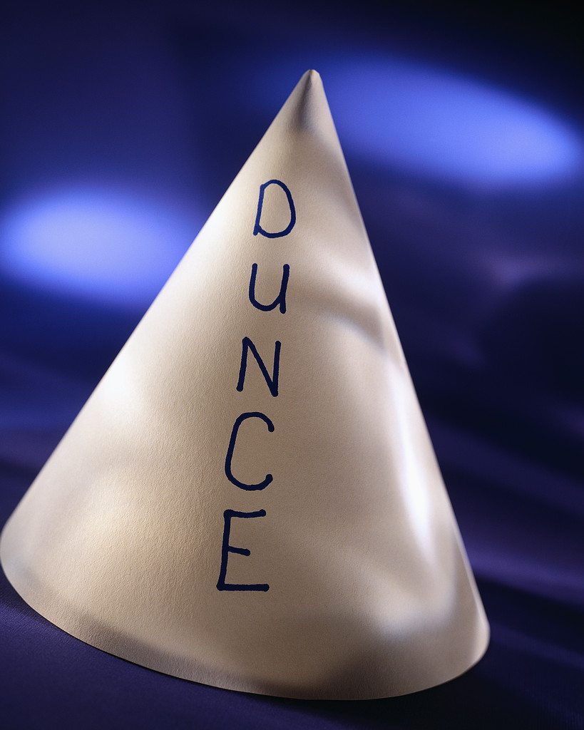 Southwest public schools home page for Dunce hat template